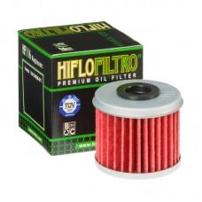 HIFLO-FILTRO фильтр масляный HF116