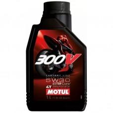 MOTUL 300V 4T FACTORY LINE 5W-30 1л.