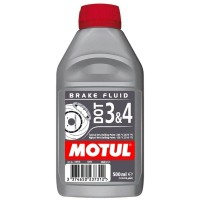 MOTUL DOT 3&4 Brake Fluid 0.5л.