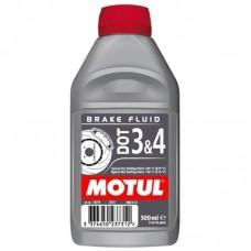 MOTUL DOT 3&4 Brake Fluid 0.5л.