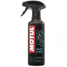 MOTUL E1 Wash & Wax 0.4л.