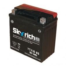 SKYRICH Аккумулятор YTX16-BS