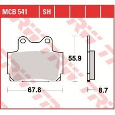 TRW Тормозные колодки MCB541SH