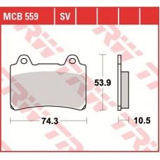 TRW Тормозные колодки MCB559SV