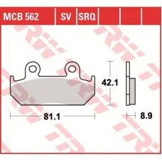 TRW Тормозные колодки MCB562SV