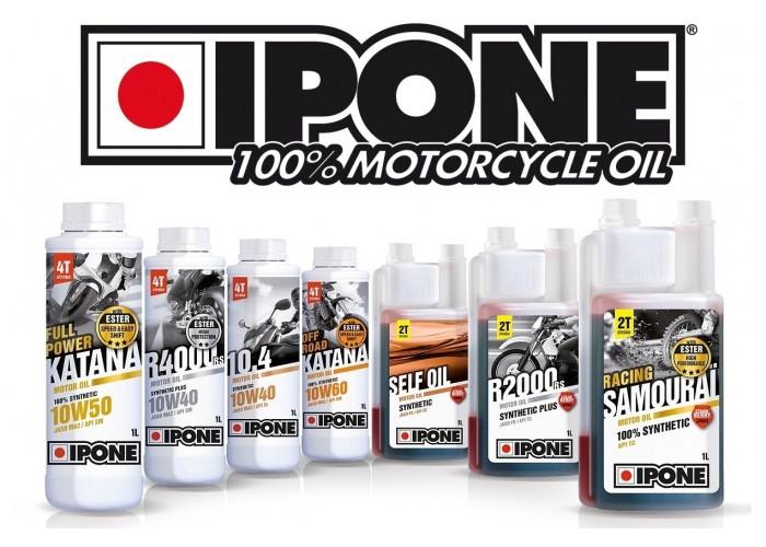 IPONE 100% motorcycle